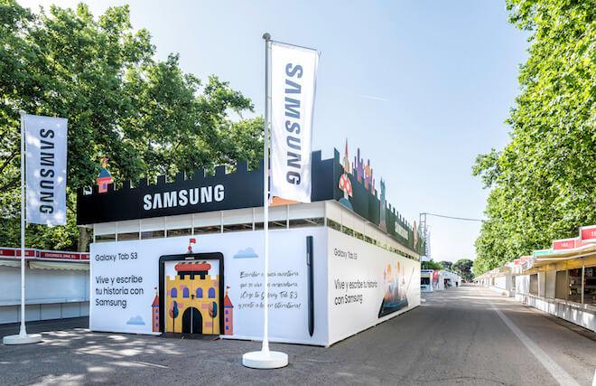 Samsung lleva la tecnología a la Feria del Libro de Madrid 2017