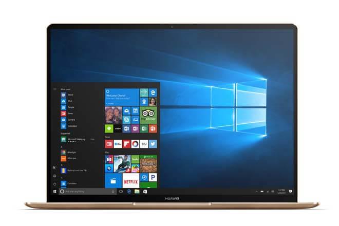 Nuevos portátiles Huawei MateBook: características y precios