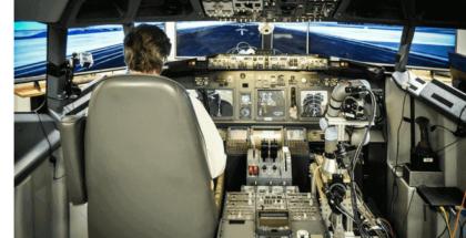 Robot piloto aterrizó Boeing 737