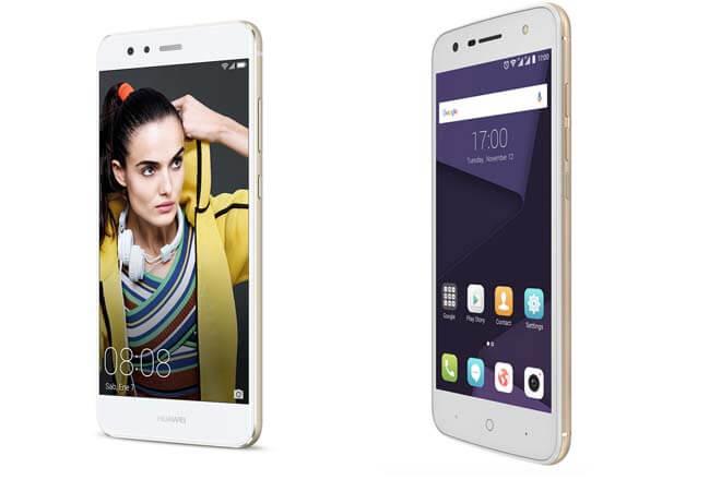 ZTE Blade V8 Lite Vs. Huawei P10 Lite ¿qué teléfono barato es mejor?