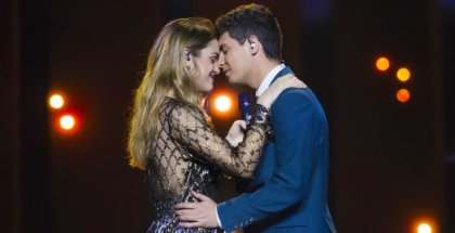 Foto de Amaia y Alfred en Eurovision