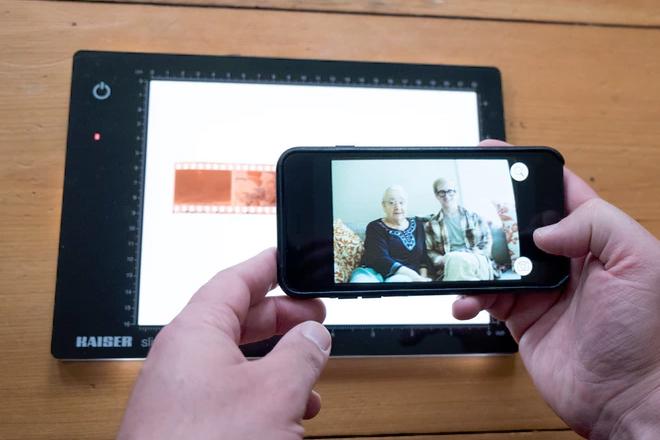 Digitalizar rollos de fotos