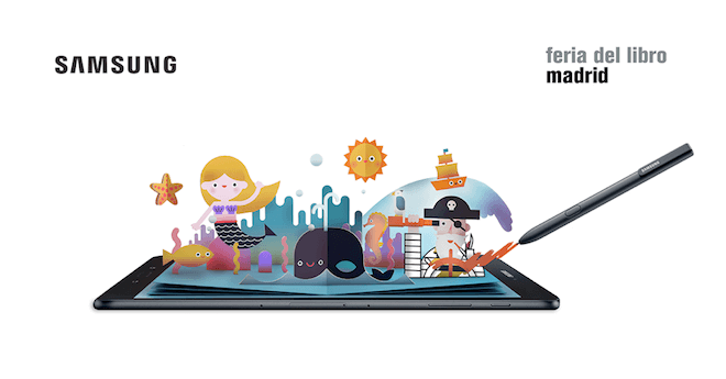 Samsung ha programado para la feria del libro actividades educativas infantiles