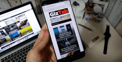 Galaxy S8 plus en mano