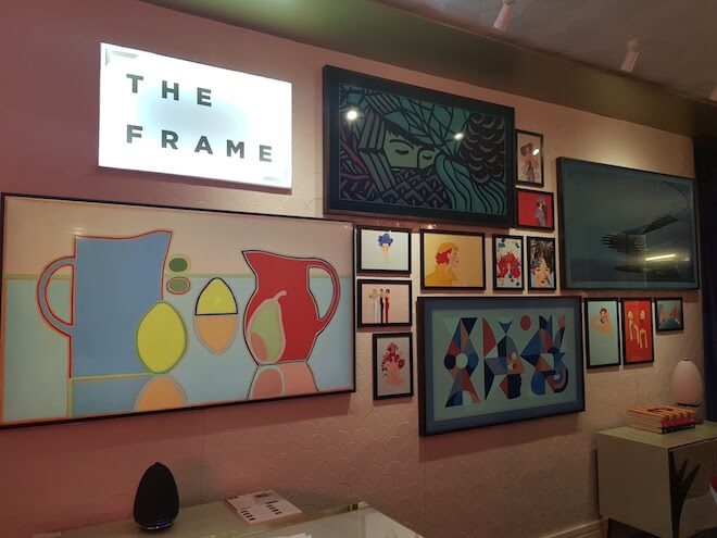 The Frame, el televisor de Samsung que fusiona tecnología con arte