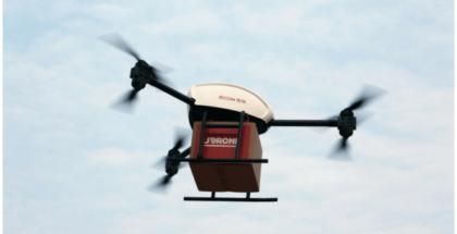 repartos con drones en China