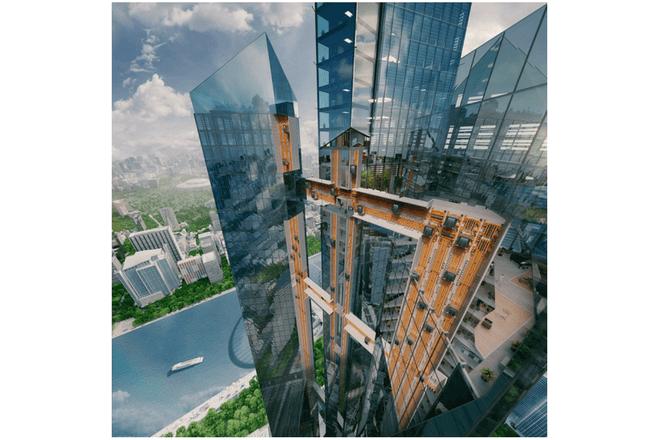 ascensor de levitación magnética creado en Alemania