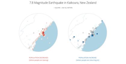Facebook crea mapas de desastres en conjunto con varias organizaciones