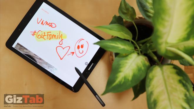 Galaxy Tab S3 y el S Pen