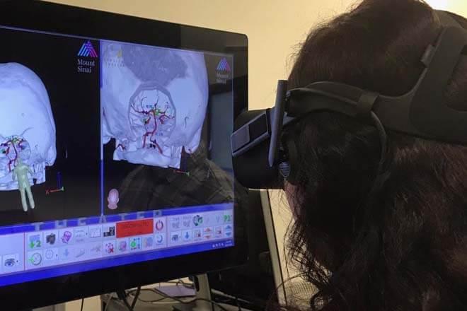 Operaciones con realidad virtual