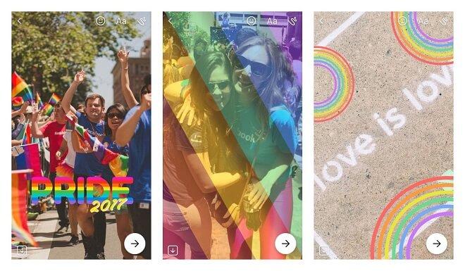 Orgullo Gay en Facebook
