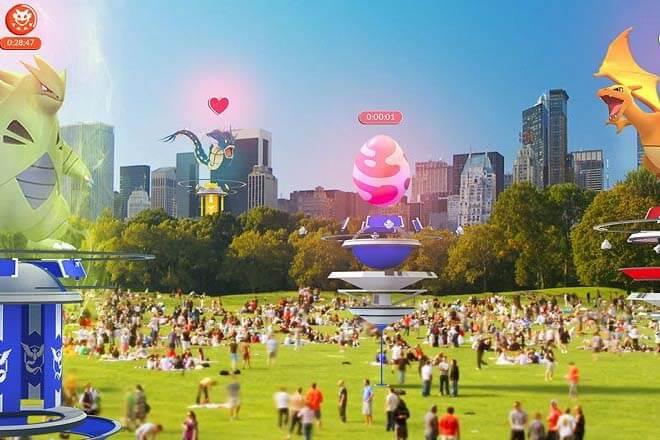Pokémon Go reestrena los gimnasios