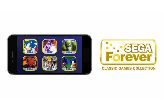 Sega estrenará juegos retro como Sonic en Android e iOS