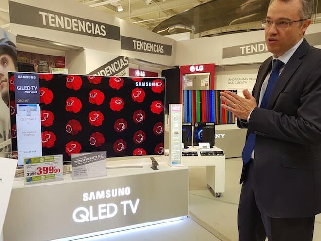 En TV la clave está en las pantallas de gran pulgada, con resoluciones como nunca antes vistas