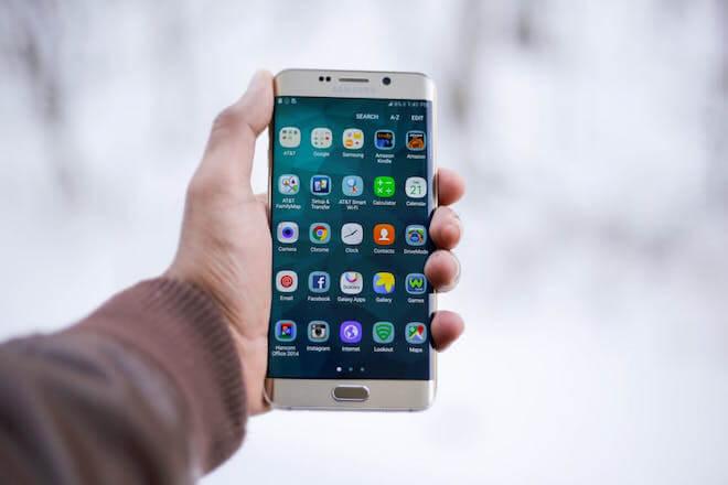 Foto de un teléfono para saber si un móvil espía