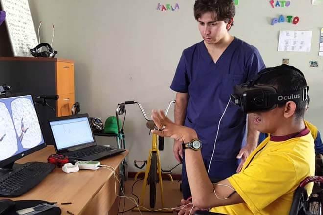 Rehabilitación con realidad virtual