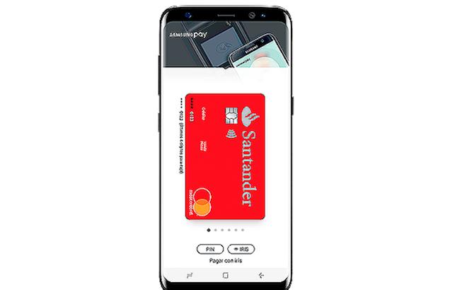 Los clientes del Santander ya pueden pagar con Samsung Pay