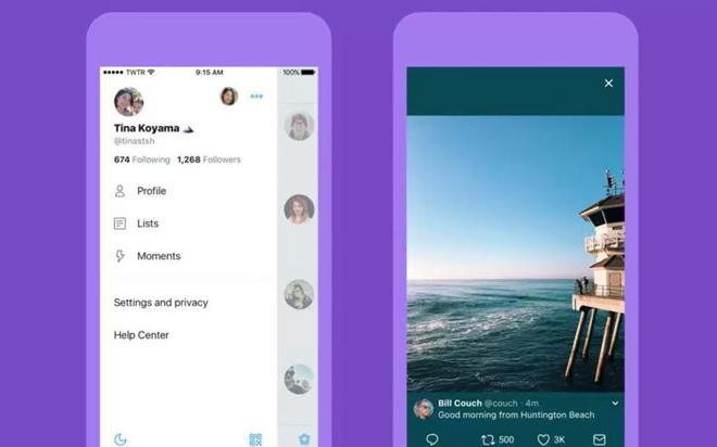 Twitter se actualiza con un diseño móvil más bonito