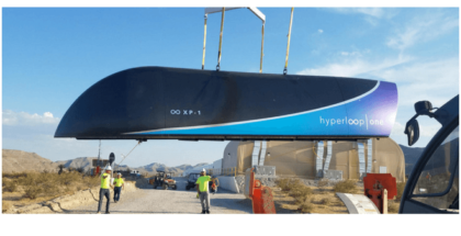 prueba de Hyperloop One