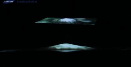Pantallas OLED elásticas de Samsung