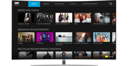 Samsung y HBO España lanzan App para Smart TV