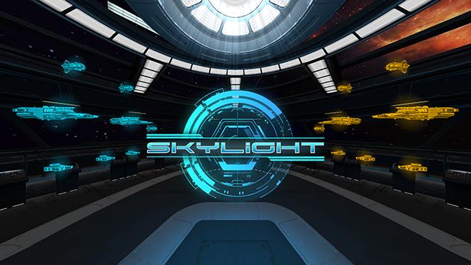 Skylight es un juego de Realidad Virtual, basado en turnos de batallas espaciales colosales