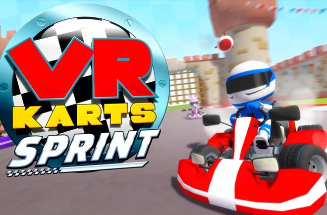 VR Karts: Sprint es un simulador de conducción muy parecido a Mario Kart