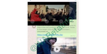 Ver vídeos de YouTube dentro de Whatsapp
