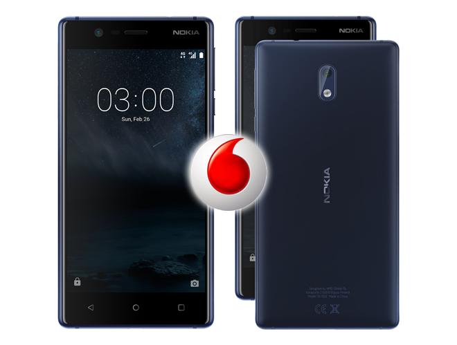 Vodafone comercializa en exclusiva en color azul