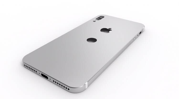 iPhone 8 con lector de huellas trasero