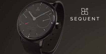 reloj inteligente que se carga con el movimiento del cuerpo