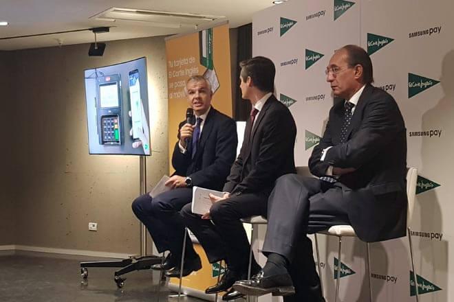 La tarjeta de El Corte Inglés ya funciona con Samsung Pay