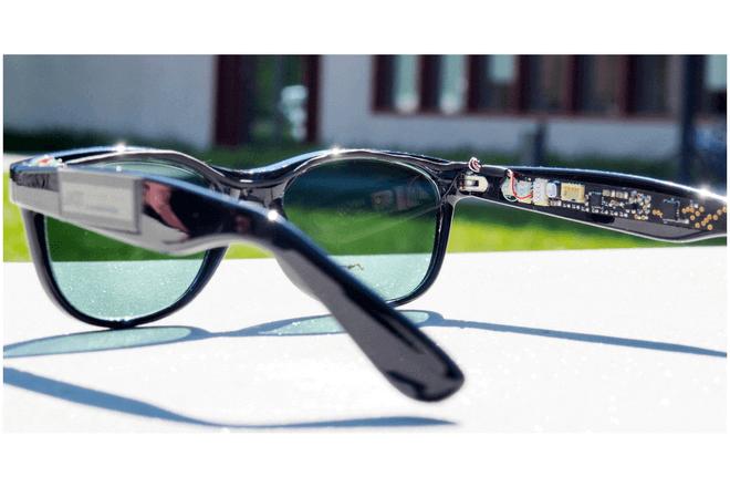 Gafas inteligentes que crean energía solar