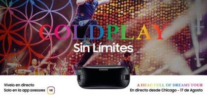 Concierto de ColdPlay en realidad virtual