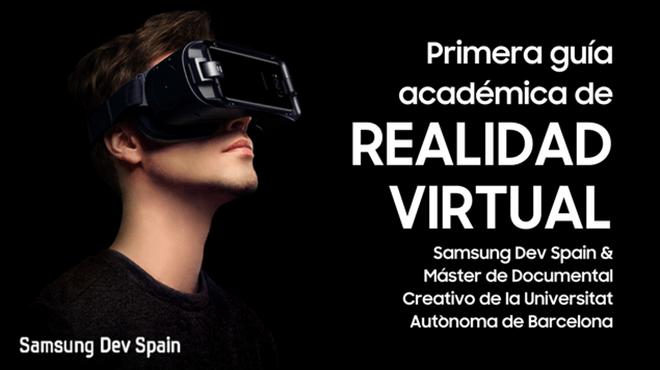 Samsung y la UAB publican la primera guía de realidad virtual en España