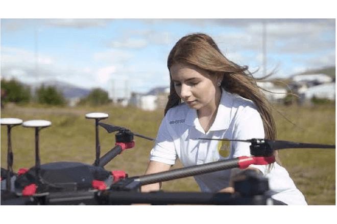 En Islandia los drones reparten comida a domicilio