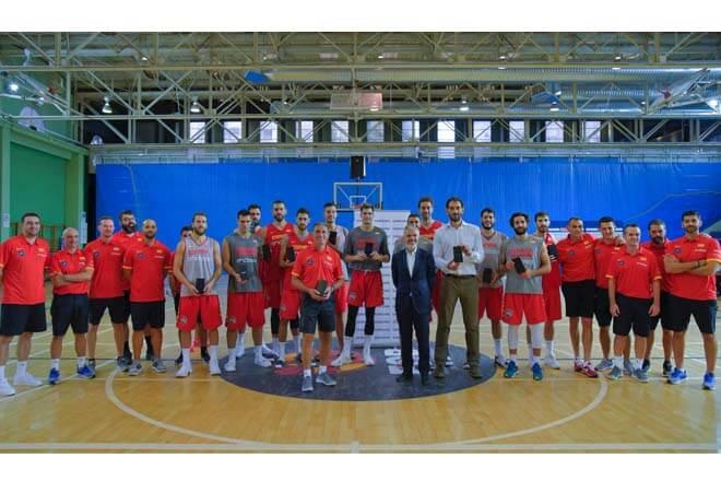 Selección de baloncesto con el Note 8