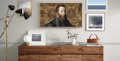 The Frame, el último televisor de diseño de Samsung, lanza una nueva ventana en 4K para los amantes del arte de la mano del Museo del Prado