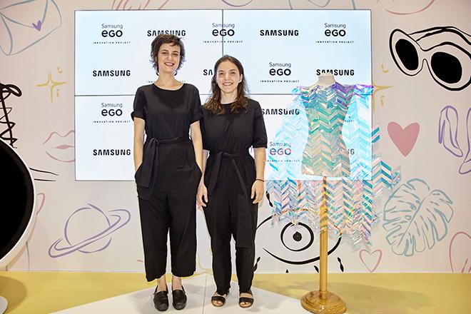 Wall dress, proyecto ganador de Samsung EGO Innovation Project, inaugura la jornada de jóvenes talentos