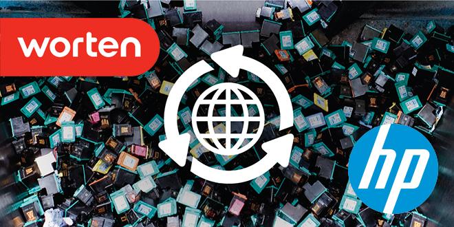 Worten y HP se unen para promover el reciclaje de cartuchos de impresoras
