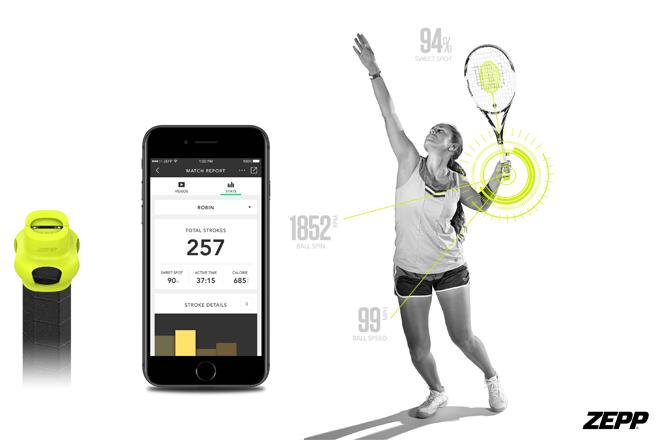 Zepp Tennis, un sensor de tenis que mejora tu rendimiento