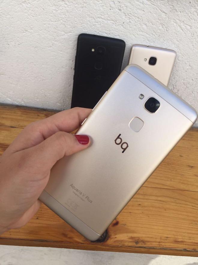 Aquaris V y Aquaris V Plus son oficiales: Los móviles de BQ para conquistar la gama media