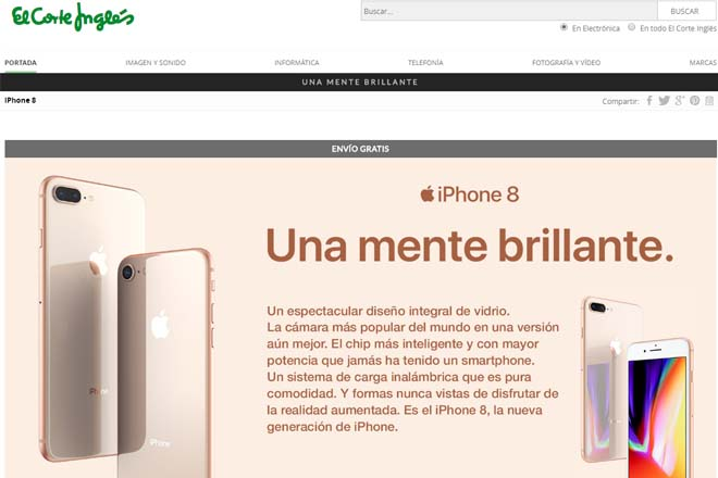 Iphone Corte Ingles Ofertas