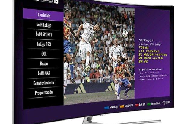 Ver el fútbol en 4K es posible gracias a un acuerdo entre Samsung y beIN CONNECT