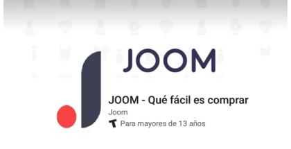 Comprar en Joom desde su aplicación