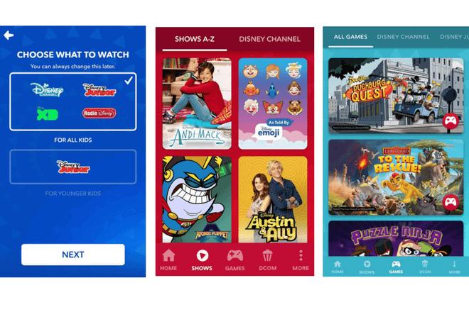 Disney junta todo su contenido infantil en la app DisneyNow