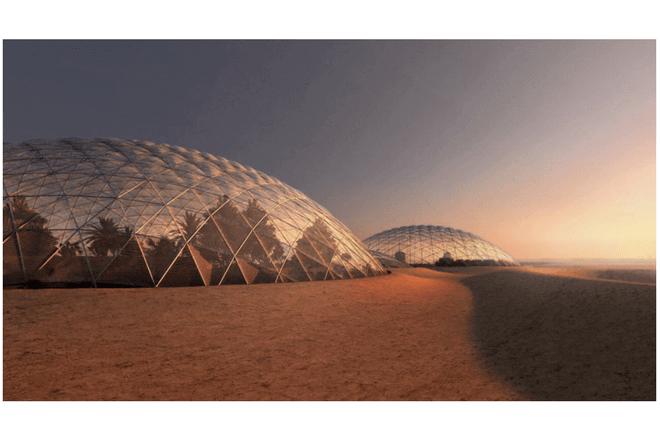 Dubai construye una ciudad de Marte en su propio desierto