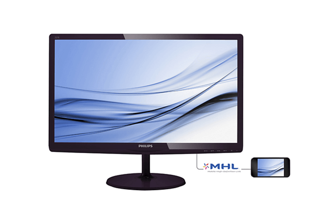 Este monitor de Philips LCD monitor with SoftBlue Technology 227E6EDSD tiene incorporada la tecnología SoftBlue que protege tu vista
