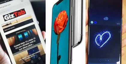 Huawei Mate 10 Vs Samsung Galaxy Note 8 Vs iPhone X