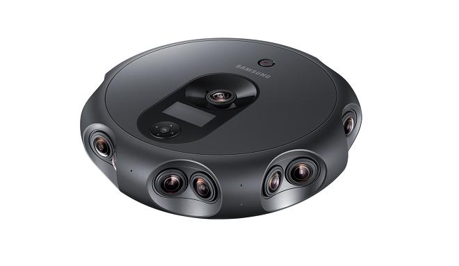 Samsung 360 Round: la cámara para crear y emitir en directo contenidos 3D en realidad virtual